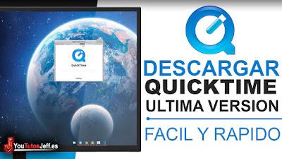 descargar quicktime ultima versión gratis y en español