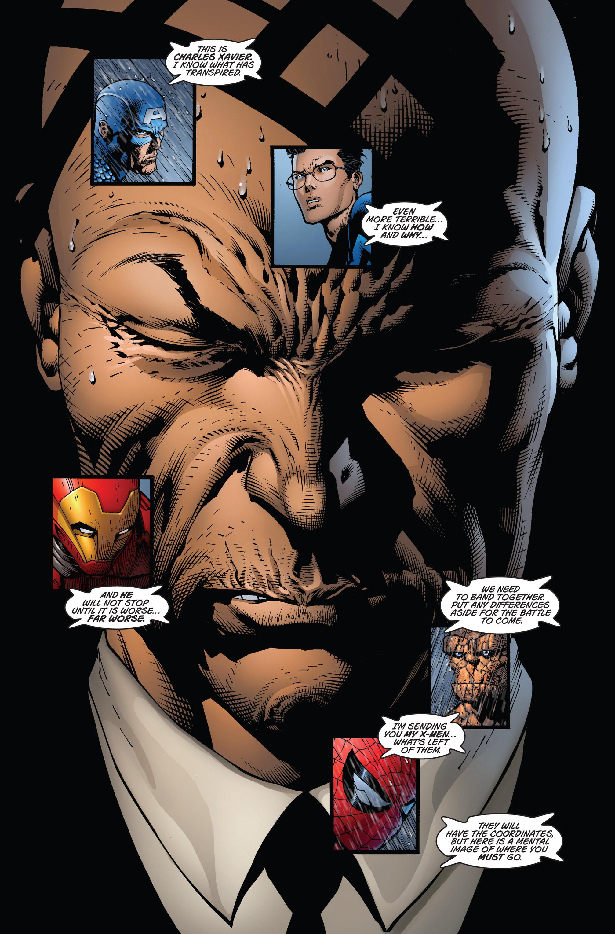 Read online Ultimatum comic -  Issue #1 - 22