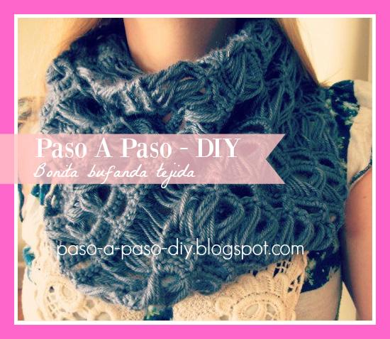 Cómo hacer una bufanda tejida sencilla