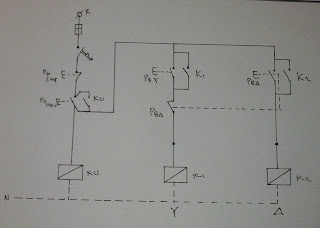 wiring diagram star-delta connection in 3-phase induction motor