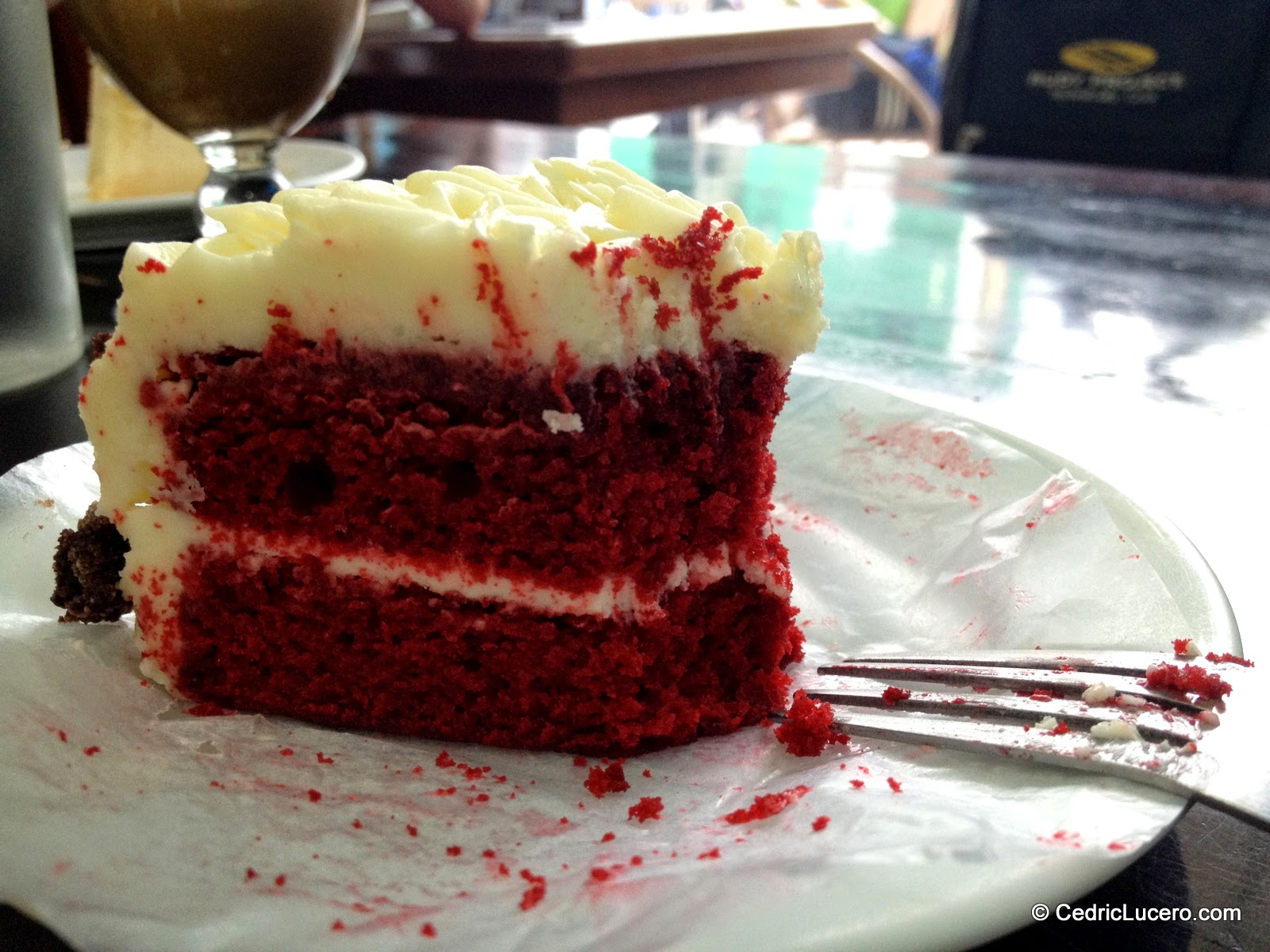 Red Velvet Cupcake by Sans Rival in Dumaguete City.