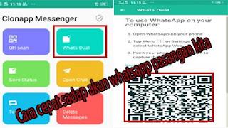 Cara cepat sadap akun whatsapp pasangan atau pacar kita.