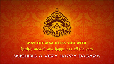 Maa Durga Wishes happy Duseehra