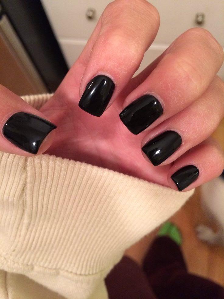 black square acrylic nails - photo #2