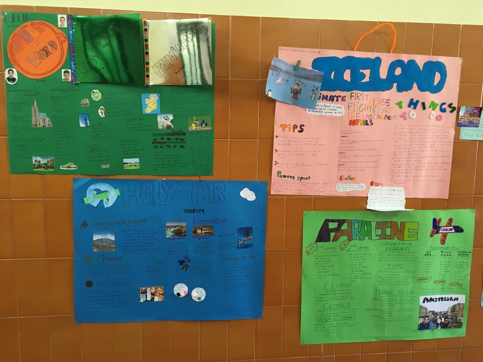 Update your English!: Projects 1º ESO