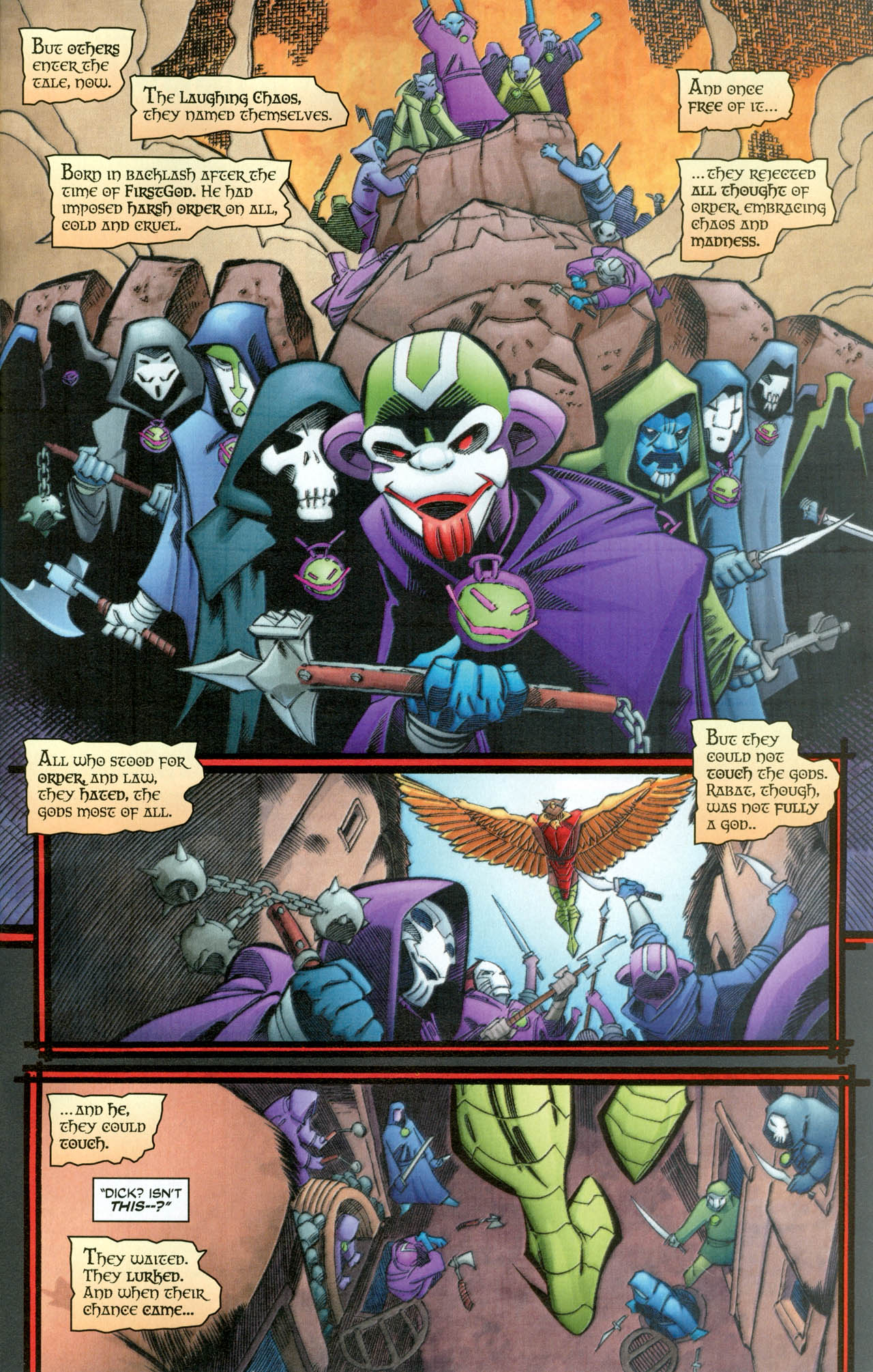 Read online Trinity (2008) comic -  Issue #31 - 30