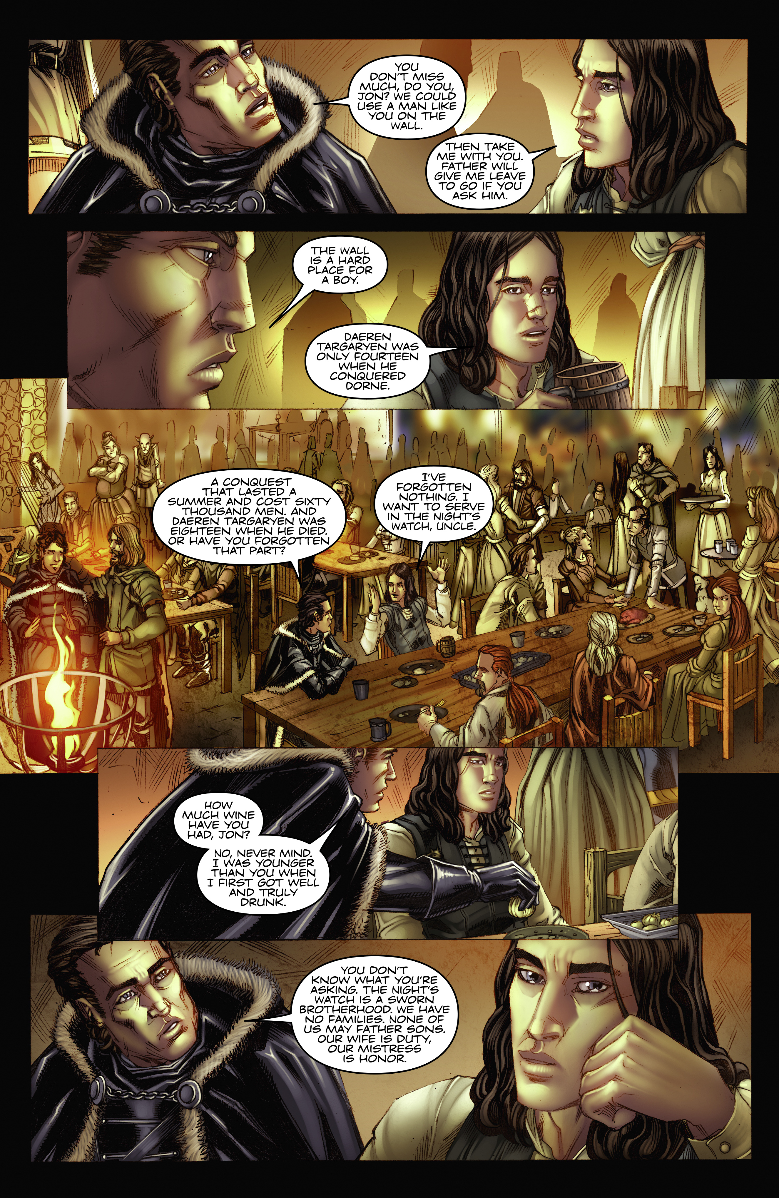 Read online A Game Of Thrones comic -  Issue #2 - 15