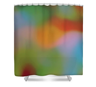 bathroom art_ricki mountain_shower curtain_home decor