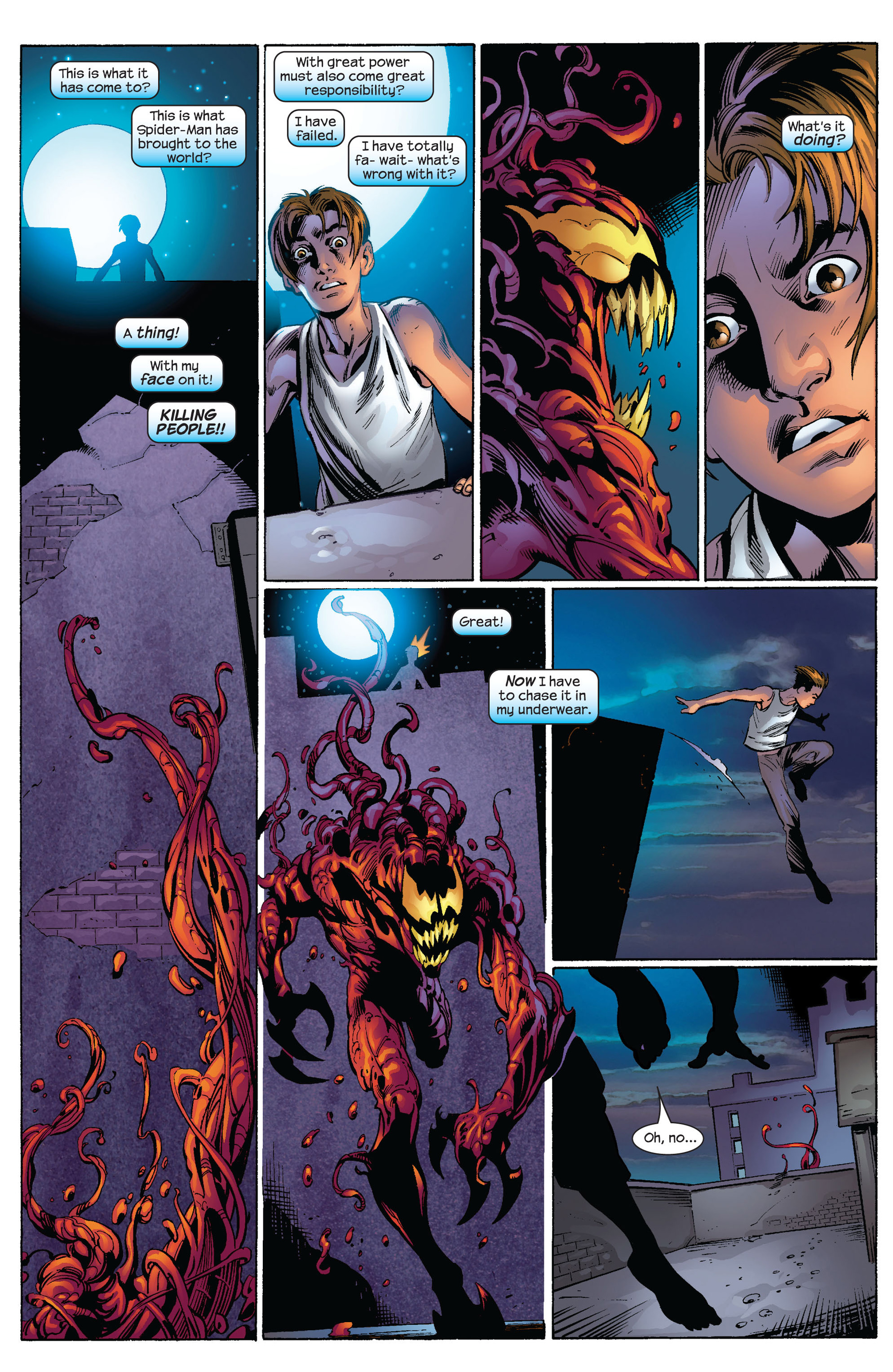 Read online Ultimate Spider-Man (2000) comic -  Issue #64 - 8