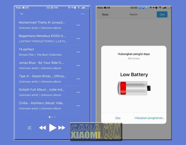 Link Download Tema MIUI IOS 6 Mod Jam sudah Di tengah posisi layar For Xiaomi Terbaru