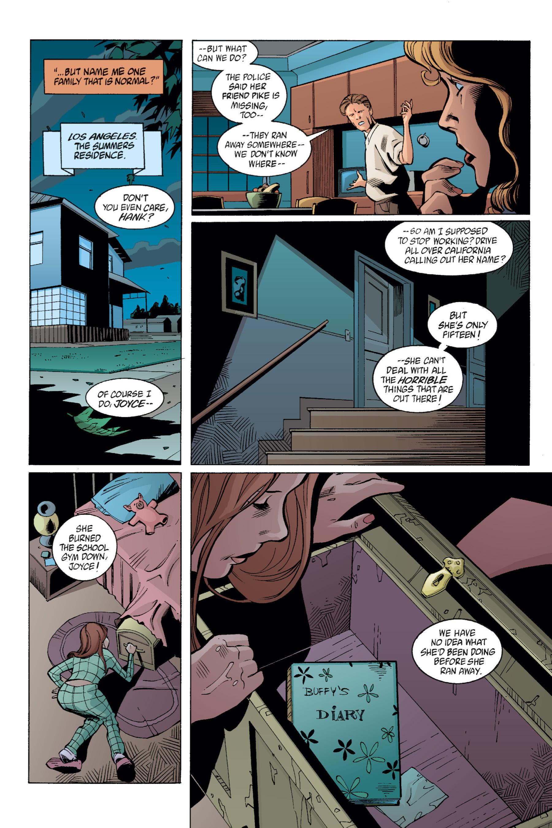 Read online Buffy the Vampire Slayer: Omnibus comic -  Issue # TPB 1 - 156