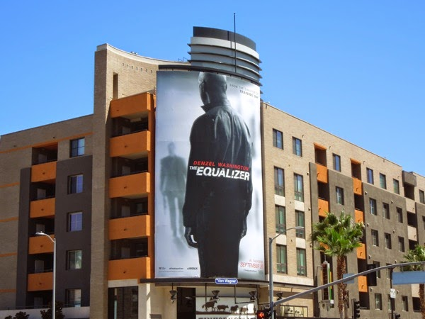 The Equalizer movie remake billboard