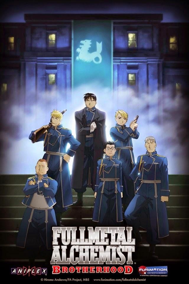 cover anime Fullmetal Alchemist: Brotherhood