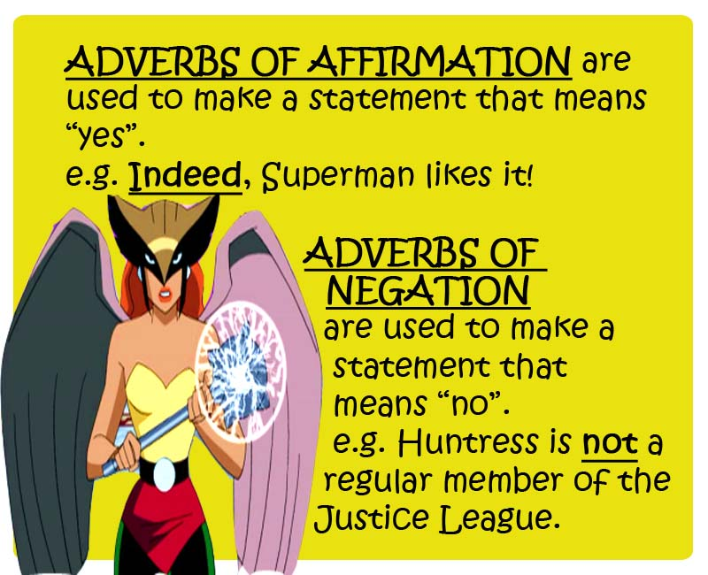 Titleenglish Posters Adverbs Justice League Teaching And