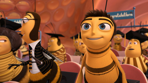 Bee Movie Jerry Seinfeld Dreamworks animatedfilmreviews.filminspector.com