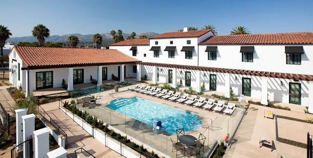 Hotel The Wayfarer em Santa Bárbara na Califórnia