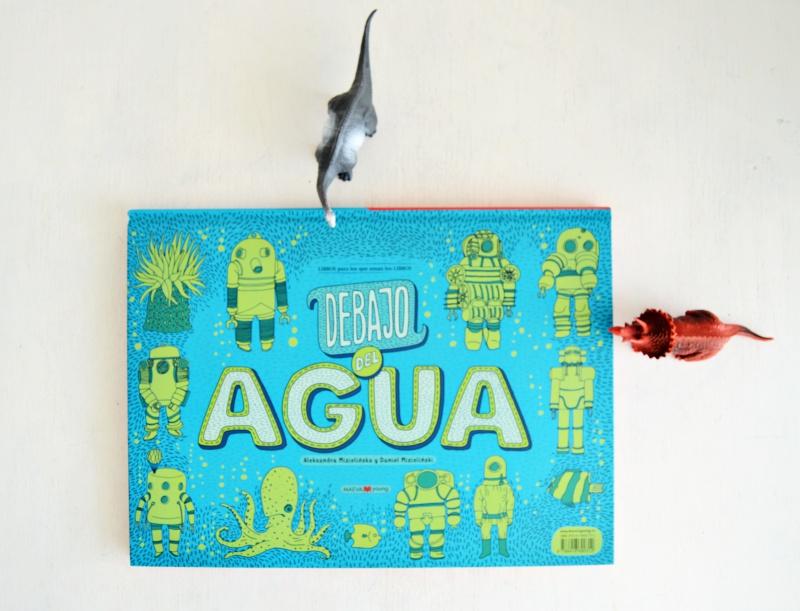album ilustrado maeva debajo de la tierra debajo del agua