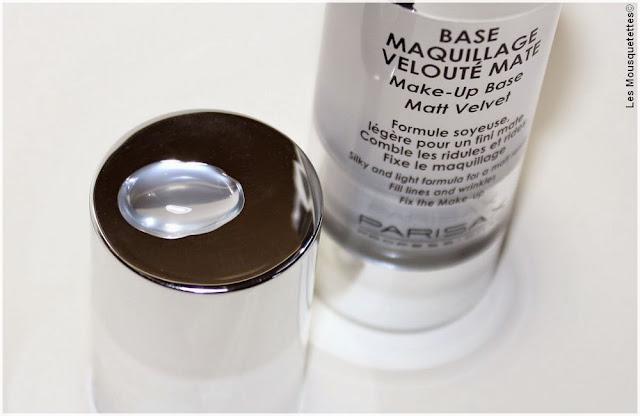 Base Maquillage Velouté Mate pro Parisax - Blog beauté Les Mousquetettes©
