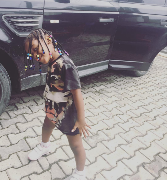 Image result for Annie Idibia Shares Adorable Photos Of Her Daughter, Olivia