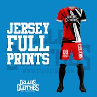 Bikin Jersey Full Printing untuk Tim Olahraga Futsal, Basket, Sepeda dan Lainnya