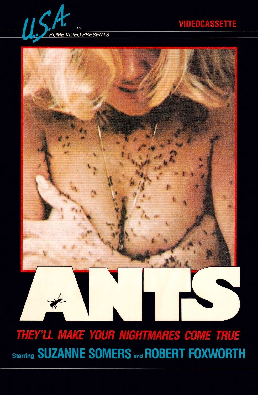 Ants Raw Review - VHS Box Cover picture. Insect horror.