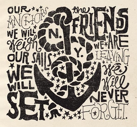 nautical typography