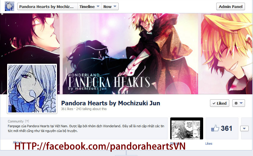 Pandora Hearts chương 081 - retrace: lxxi children trang 44