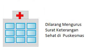 Dilarang Mengurus Surat Keterangan Sehat Di Puskesmas Atau