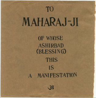 To Maharaj ji Of Whose Ashirbad This is A Manifestation