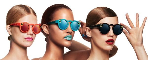 Snapchat 'Spectacles' sunglasses with an integrated video camera announced
