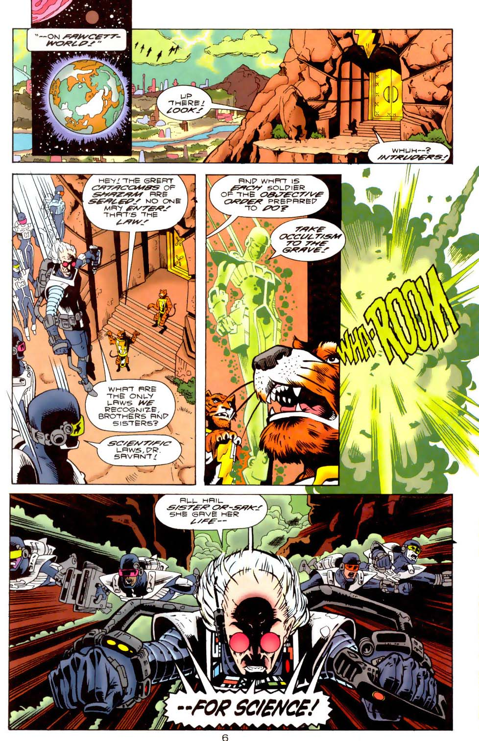 Legion of Super-Heroes (1989) 110 Page 6