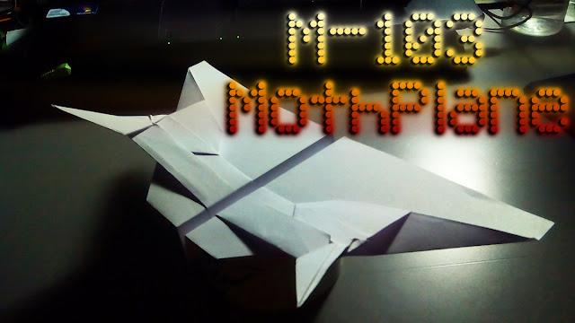 Avión de papel M-103