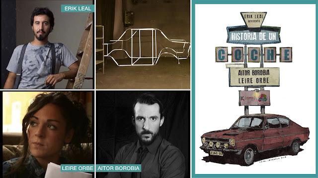 Cartel y elenco de Historia de un coche