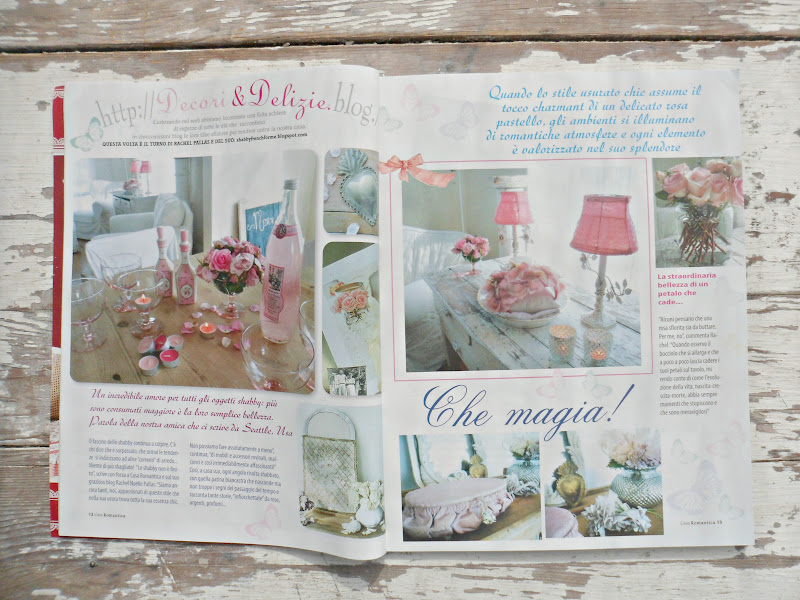 Shabby french for me thank you casa romantica shabby chic magazine - Shabby chic casa ...
