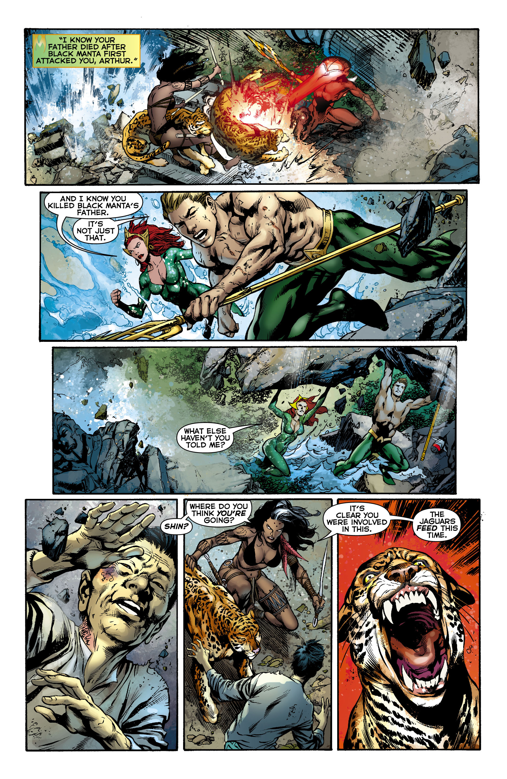 Read online Aquaman (2011) comic -  Issue #12 - 13
