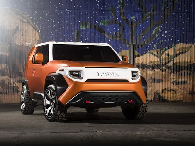 2017 Toyota FT-4X Concept - #Toyota #Concept_car #suv