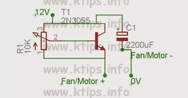The Circuit Can Operate From A Voltage Of About 5v Up To 12v Change