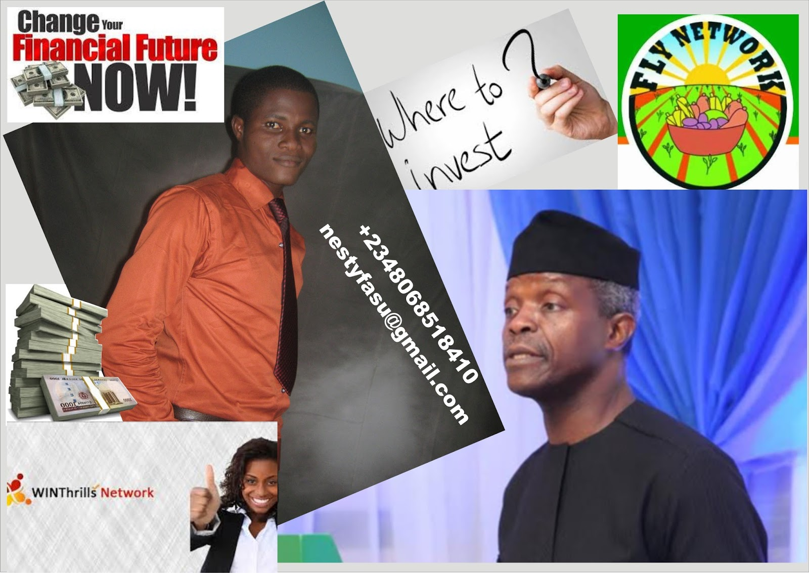 3f2197205821f NEVER DEPEND ON YOUR ON YOUR ACADEMIC CERTIFICATES ALONE –VP Y. Osinbajo  Tells Students
