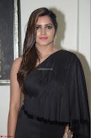 Pavani Reddy in Black Saree Sleeveless Choli ~  Exclusive 13.JPG