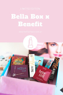 Bellabox x Benefit Pinterest