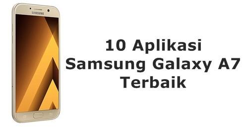 Aplikasi Samsung Galaxy A7