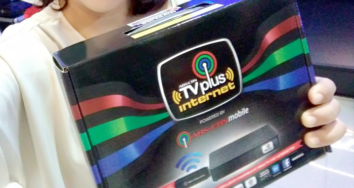ABS-CBN rolls out TVPlus Internet in Davao and Cebu
