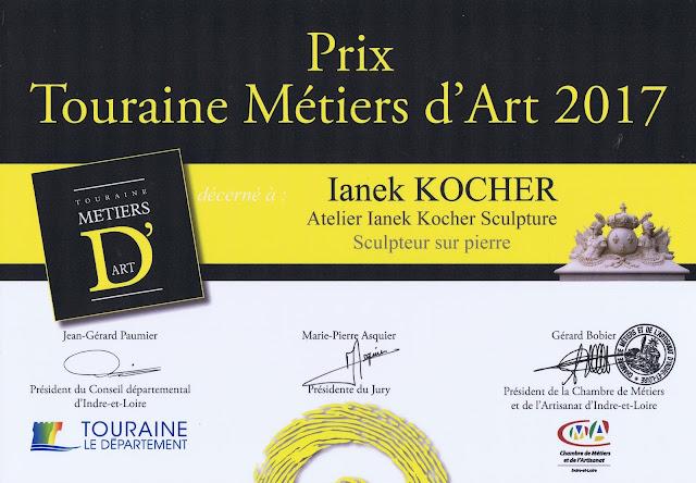 Trophée fort de la Conchée Saint-Malo Sculpture Ianek Kocher