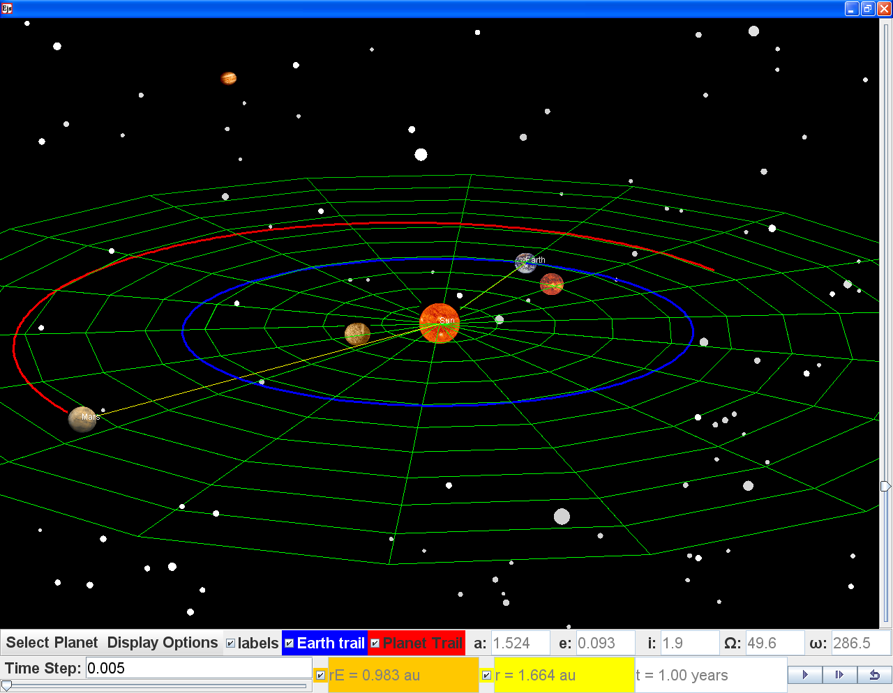 charts of the solar system gravity - photo #26