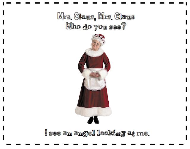 Santa Claus Book Freebie: A printable book for first grade. Santa Claus, Santa Claus is modelled after Brown Bear, Brown Bear.