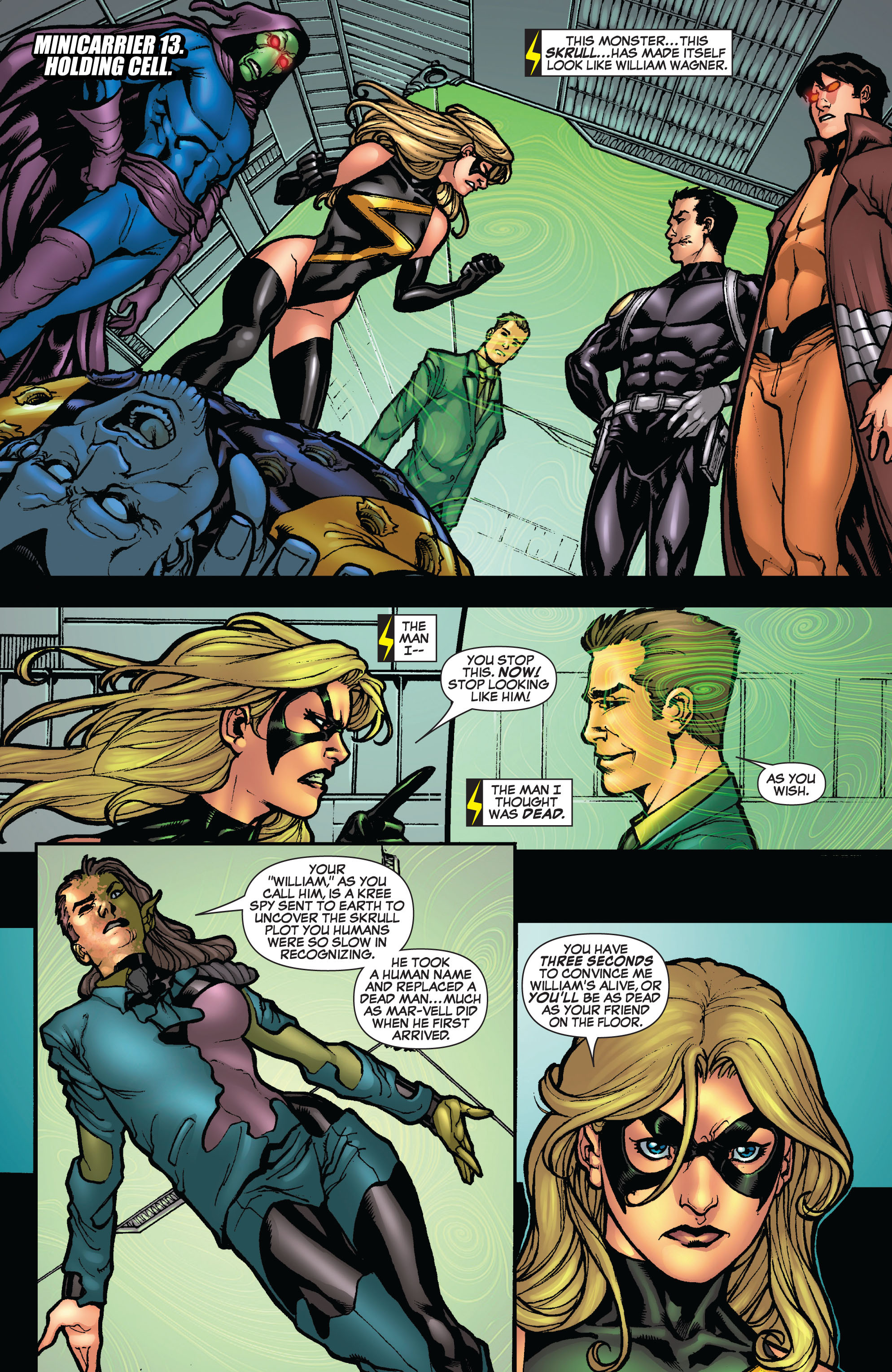 Read online Secret Invasion: The Infiltration comic -  Issue #10 - 3