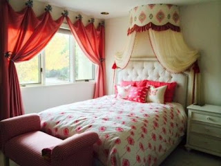 tempat tidur anak gadis minimalis