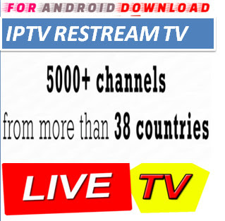Download IPTVRestream LiveTV M3U LINK FOR LIVE TV CHANNEL  LiveTV Channel M3u Link For Premium Cable Tv,Sports Channel,Movies Channel.