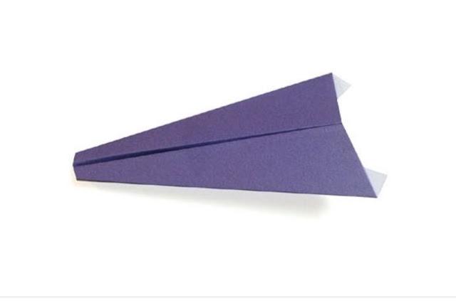 Hướng dẫn gấp máy bay tiêm kích