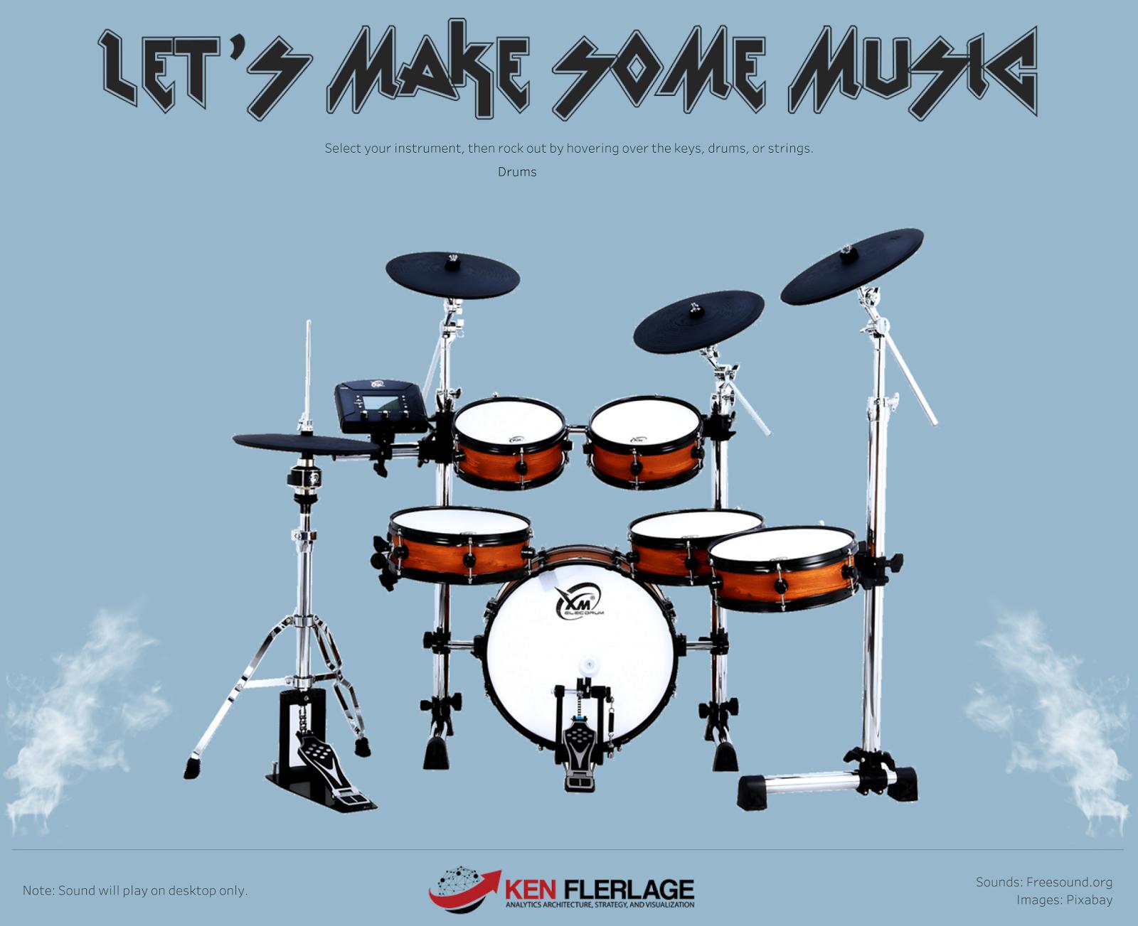 Can I Do That? Music in Tableau - Ken Flerlage: Analytics